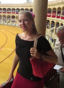 Aneta Suchomelová_tradicional corrida goyesca, Ronda